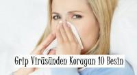 Grip Virüsünden Koruyan 10 Besin