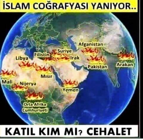 İslam Coğrafyası Yanıyor